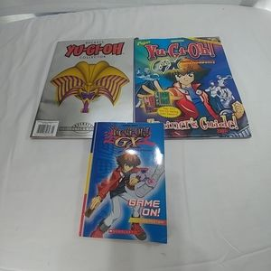 Yu- Gi-OH collector trainer books